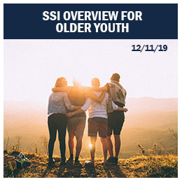 SSI Overview for Older Youth
