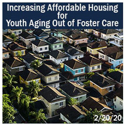 Increasing Affordable Housing for Youth Aging Out of foster Care in PA