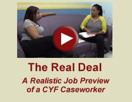 Video: The Real Deal - A Realistic Job Preview of a CYF Caseworker